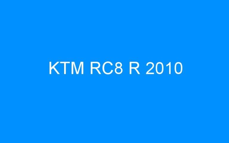 KTM RC8 R 2010