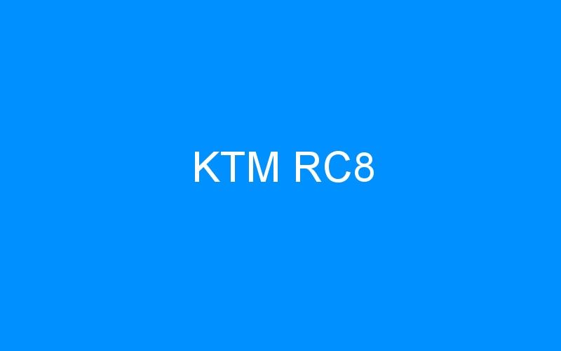 KTM RC8