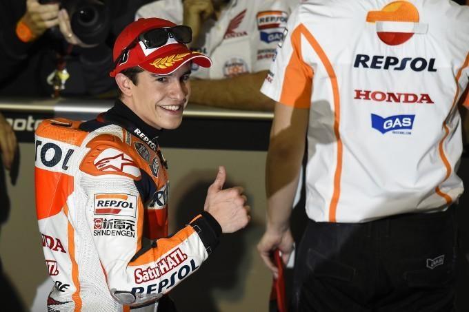 MotoGP – Qatar : Márquez s'impose devant Rossi