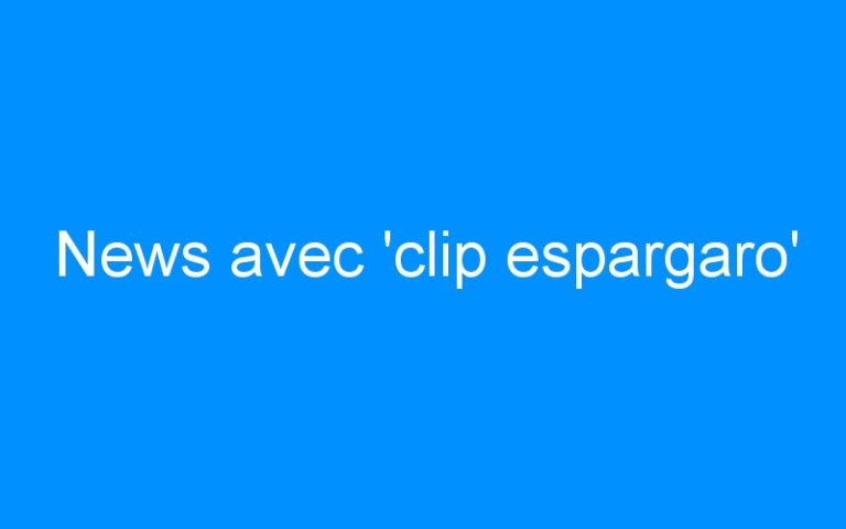 News avec 'clip espargaro'
