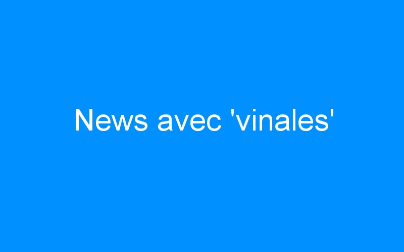 News avec 'vinales'
