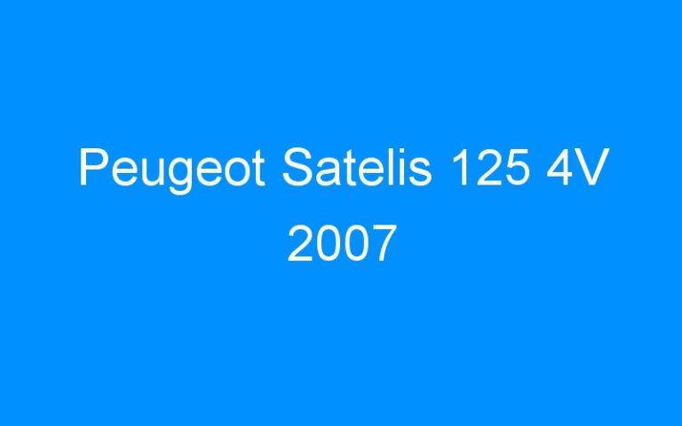 Peugeot Satelis 125 4V 2007
