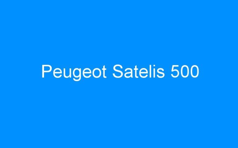 Peugeot Satelis 500