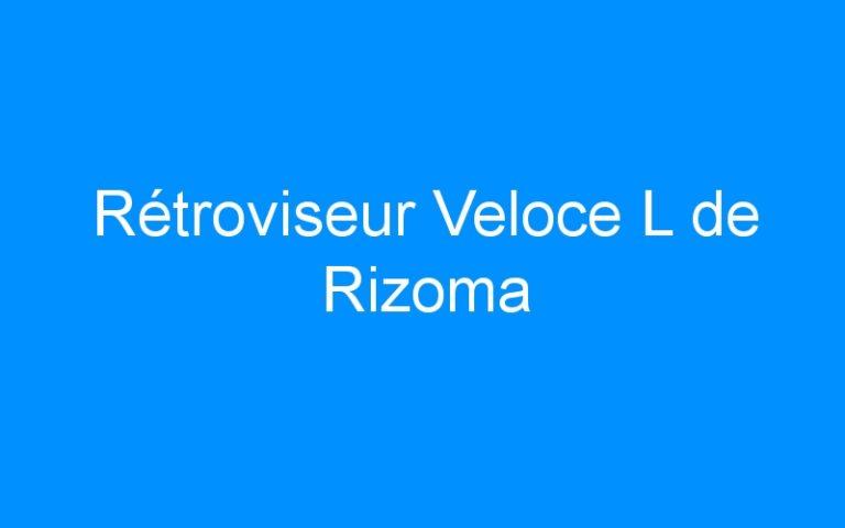 Rétroviseur Veloce L de Rizoma