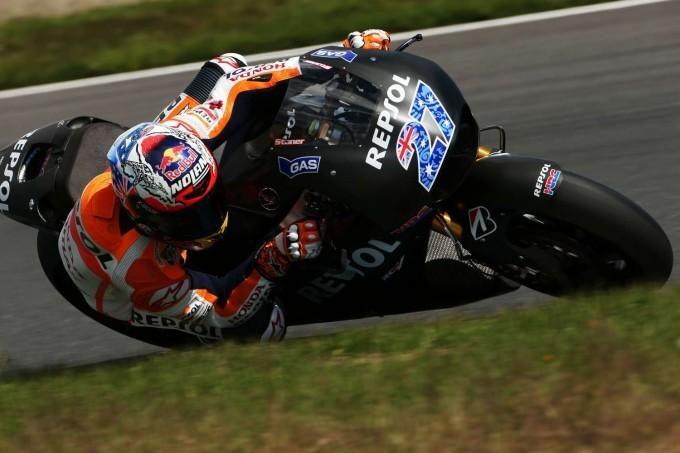 Stoner a testé la Honda 'MotoGP Production Racer'