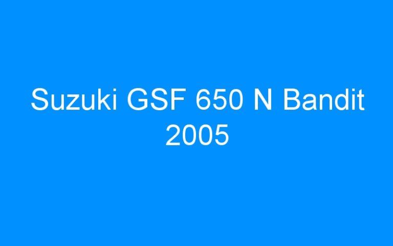 Suzuki GSF 650 N Bandit 2005