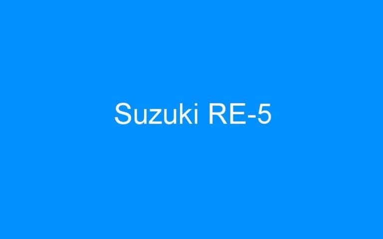 Suzuki RE-5