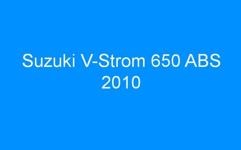 Suzuki V-Strom 650 ABS 2010