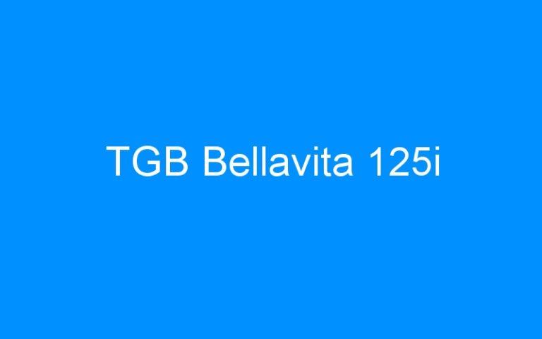 TGB Bellavita 125i