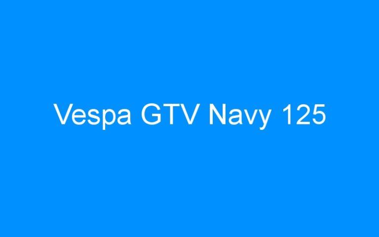 Vespa GTV Navy 125