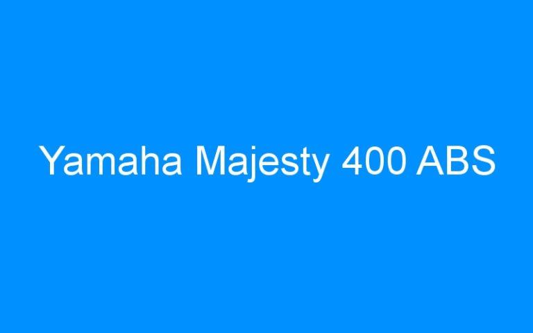 Yamaha Majesty 400 ABS