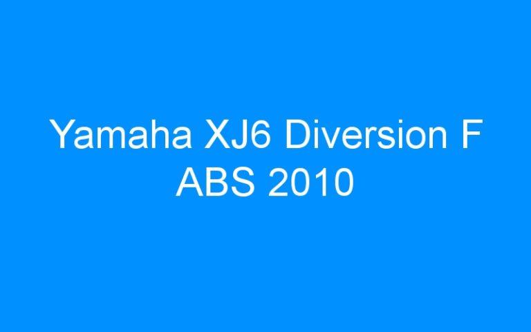 Yamaha XJ6 Diversion F ABS 2010