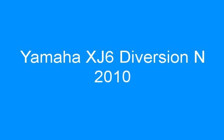 Yamaha XJ6 Diversion N 2010