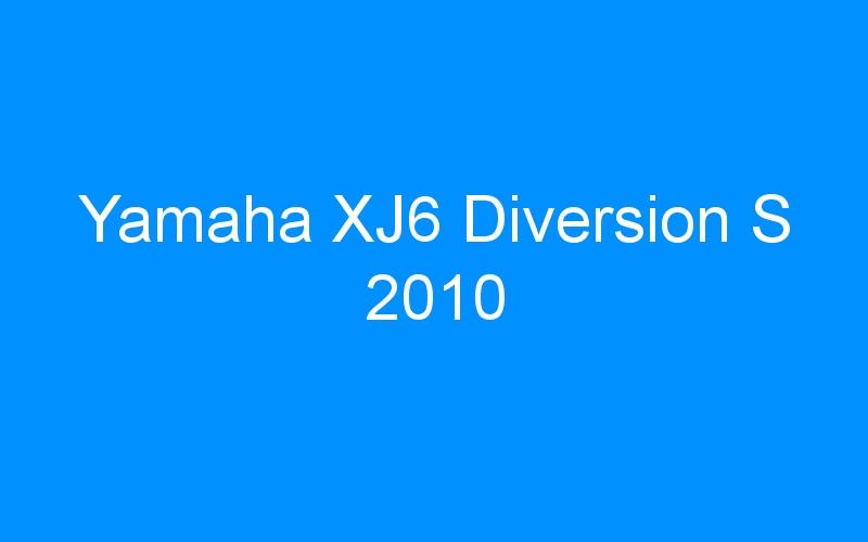 Yamaha XJ6 Diversion S 2010