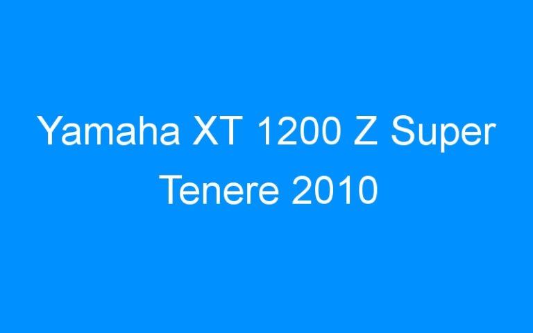 Yamaha XT 1200 Z Super Tenere 2010