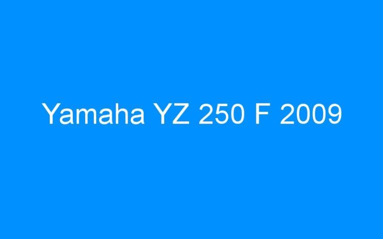 Yamaha YZ 250 F 2009